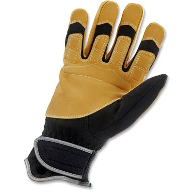 Ergodyne ProFlex 750 At-Heights Construction Gloves in Black and Tan