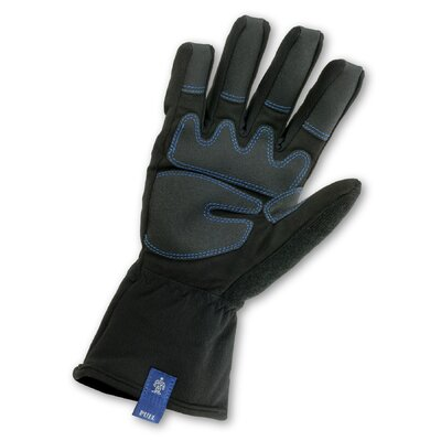 Ergodyne ProFlex 819WP Thermal Waterproof Gloves with Gauntlet in Black