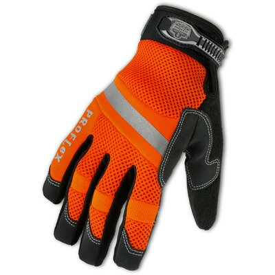 Ergodyne ProFlex 872 Hi-Vis General Duty Mesh Gloves in Orange