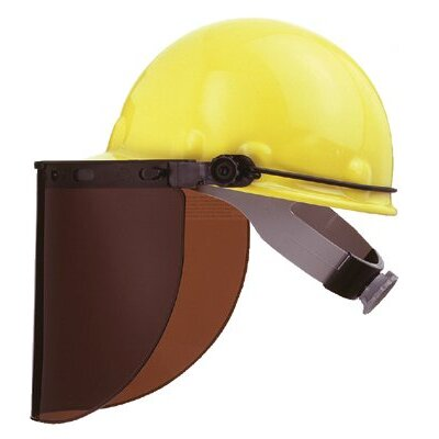 Fibre-Metal High Performance® Protective Cap Brackets - faceshield peak mountingbracket dielectric