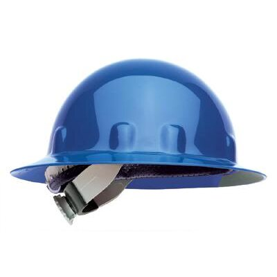 Fibre-Metal SUPEREIGHT® Class E, G or C Type I Thermoplastic Hard Hat With Full Brim And 3-R Ratchet Suspension