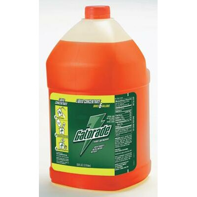 Gatorade Gallon Liquid Concentrate Orange - Yields 6 Liquid Gallons
