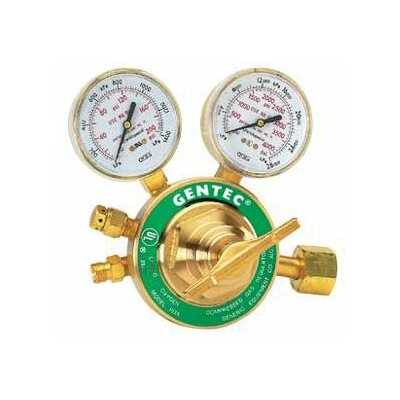 Gentec Single Stage Regulators - gw 33-153y-15 hvy dtyacetylene cga510
