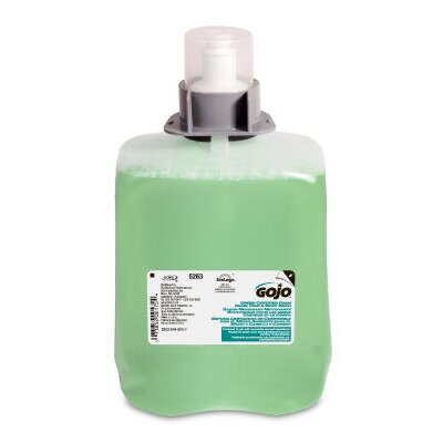 Gojo Certified Luxury Foam Hand Hair and Body Wash in Green