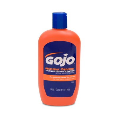 Gojo Natural Orange Pumice Hand Cleaner Bottle