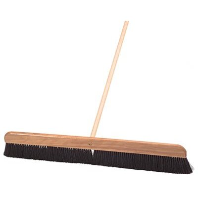 Goldblatt Concrete Finishing Brooms - broom plastic 24 in w/hd