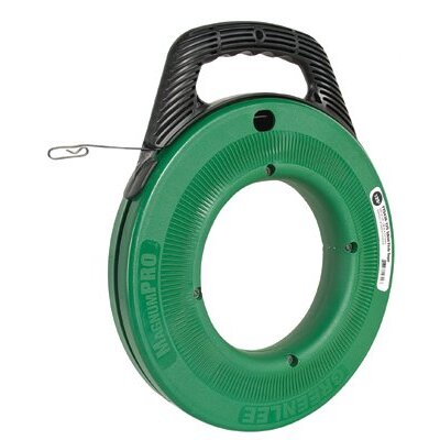 Greenlee Greenlee - Magnumpro Fish Tapes Fishtape Steel-125': 332-Fts438-125 - fishtape steel-125'