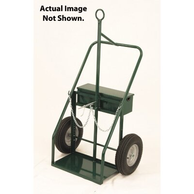 Harper Trucks 900 Series Heavy Duty Continuous Handle Hand Truck With Tow Ring And Fire Barrier