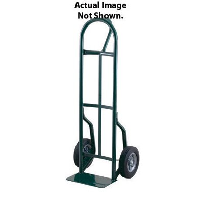 "Harper Trucks 59T Series Loop Handle Steel Hand Truck With 8"" Solid Rubber Wheels"