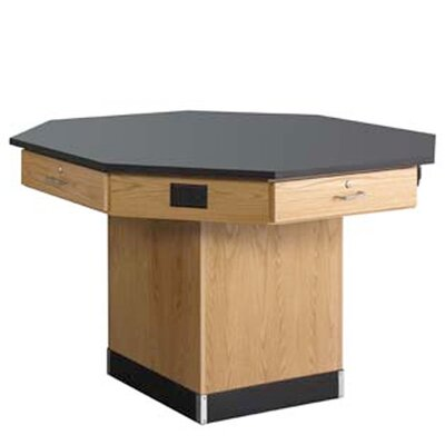 Diversified Woodcrafts Octagon Workstation