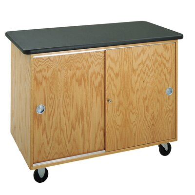 Diversified Woodcrafts Standard Mobile Lab Table