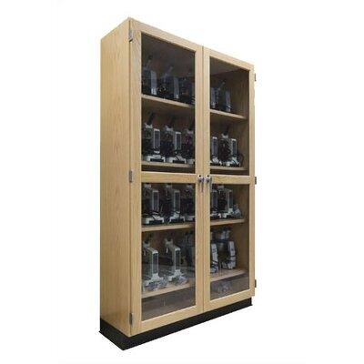 "Diversified Woodcrafts 24"" Wide Microscope Storage Case"