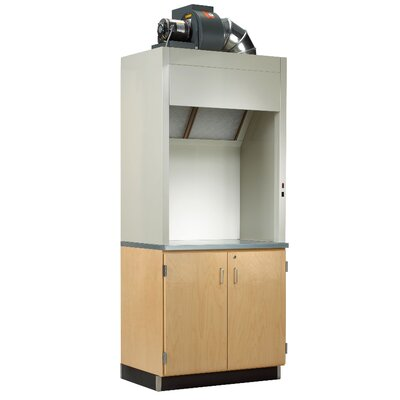 Diversified Woodcrafts Painting Hood and Cabinet System