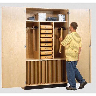 Diversified Woodcrafts Drafting Supply Cabinet
