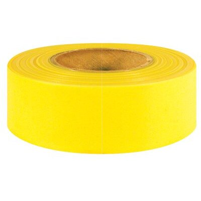 "Intertape Polymer Group Intertape Polymer Group - Flagging Ribbons 800-Yg 1-3/16""X 50Yd Yellow Glow Flagging Ribbon: 761-6889 - 800-yg 1-3/16""x 50yd yellow glow flagging ribbon"
