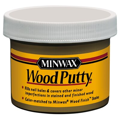 Minwax 3.75 Oz Pickled Oak Wood Putty™ 13619