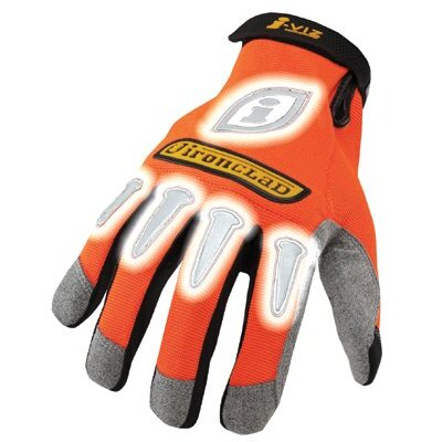 Ironclad Ironclad - I-Viz Reflective Gloves I-Viz Gloves Orange Sizel: 424-Ivo-04-L - i-viz gloves orange sizel