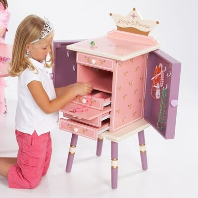 Levels of Discovery Princess Jewelry Armoire