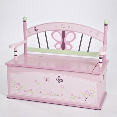 Levels of Discovery Sugar Plum Kid's Storage Bench