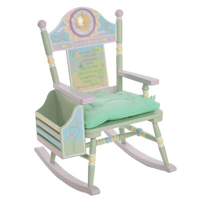Rock A Buddies Time to Read Kid Rocking Chair