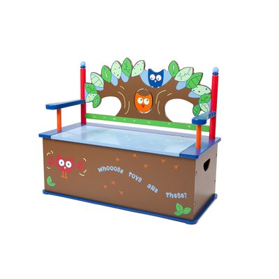Owls Kid's Storage Bench
