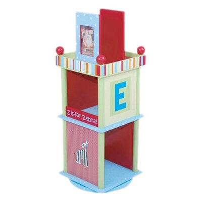 "Levels of Discovery Alphabet Soup Revolving 33.5"" Bookcase"