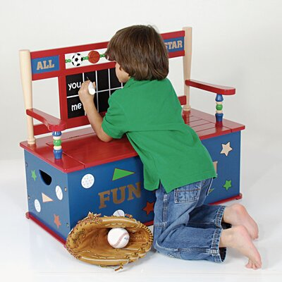 All Star Sports Kid's Storage Bench