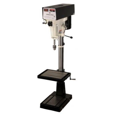 "Jet 15"" Variable Speed Floor Drill Press"