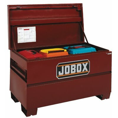 "Jobox On-Site Chests - 48x24x27.75"" jobox steelindustrial site vault"