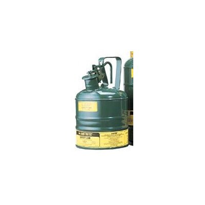 Justrite Gallon Green Steel Type I Safety Can For Oil