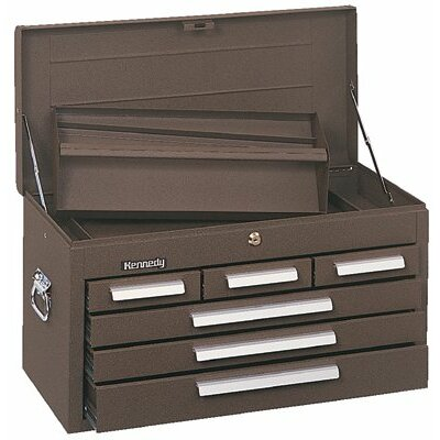 Kennedy Mechanics' Chests - 00048 mechanic chest 6 drawer brown