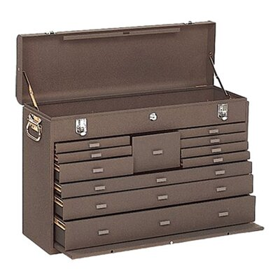 Kennedy Machinists' Chests - 00094 machinist chest 11drawer brown