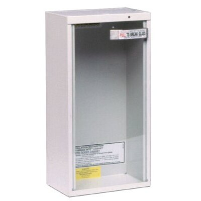 Kidde Kidde - Extinguisher Cabinets 10Lb Surface Mount Cabinet: 408-468042 - 10lb surface mount cabinet