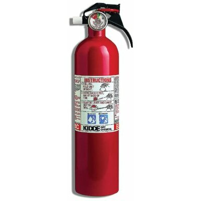 Kidde Kidde - Kitchen/Garage Fire Extinguishers 3 Lb. 10Bc Kitchen/Garage Fire Extinguisher: 408-466141 - 3 lb. 10bc kitchen/garage fire extinguisher