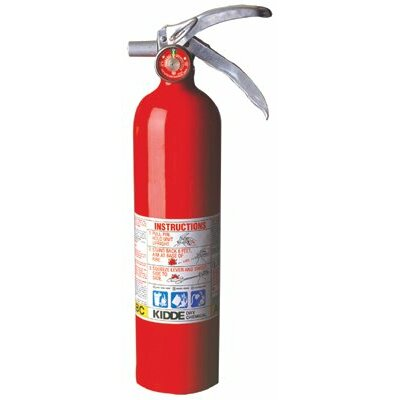 Kidde Kidde - Proplus Multi-Purpose Dry Chemical Fire Extinguishers - Abc Type 2.5Lb Abc Fire Ext.: 408-468000 - 2.5lb abc fire ext.