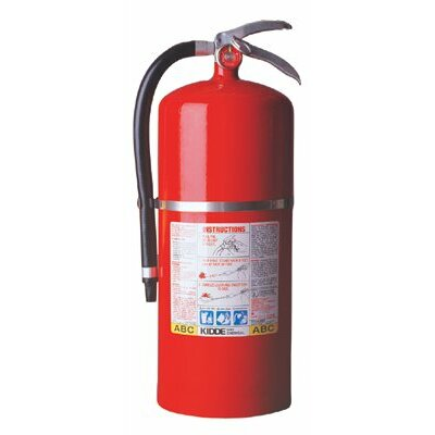 Kidde ProPlus™ Multi-Purpose Dry Chemical Fire Extinguishers - ABC Type - tri class tri chemical steel cylndr extinguisher