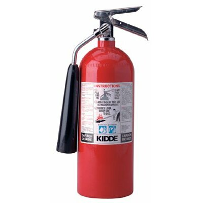 Kidde ProLine™ Carbon Dioxide Fire Extinguishers - BC Type - 5lb. pro 5 cdm carbon dioxide fire exting