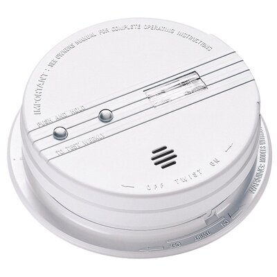 Kidde Battery Backup Smoke Alarm With Exit Light