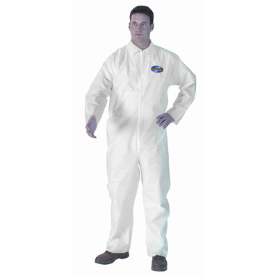 Kimberly-Clark Kleenguard A20 Fabric 2X-Large Coveralls Micro force Barrier SMS in White
