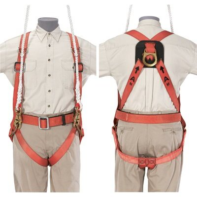 Klein Tools Full-Body Fall-Arrest/Suspension Harness - rescue harness