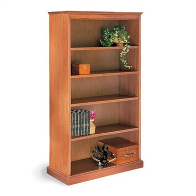 "Hale Bookcases 200 Signature Series 60"" H Five Shelf Deep Storage Bookcase"