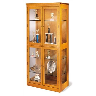 "Hale Bookcases 200 Signature Series 79"" H Showcase"