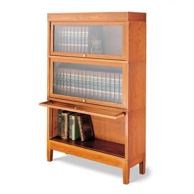 "Hale Bookcases 800 Sectional Series 54"" H Deep Barrister Bookcase"