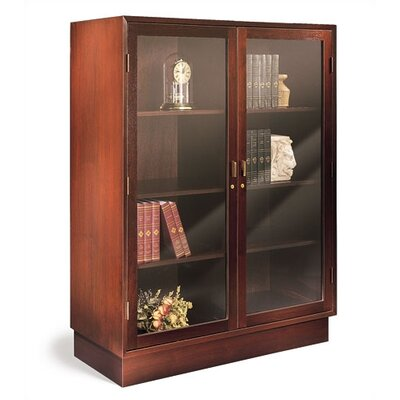 "Hale Bookcases 1100 NY Series 53"" H Den Master with Hinged Double Doors"