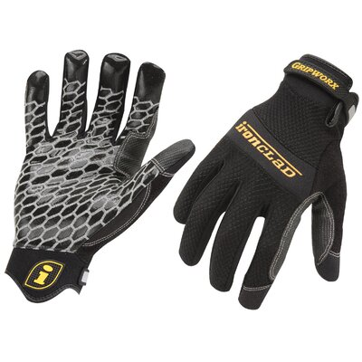 Ironclad Medium Men's Gripworx® Gloves BGW-03-M