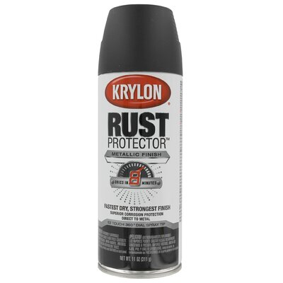 krylon oil rubbed bronze rust protector spray paint metallic. Black Bedroom Furniture Sets. Home Design Ideas
