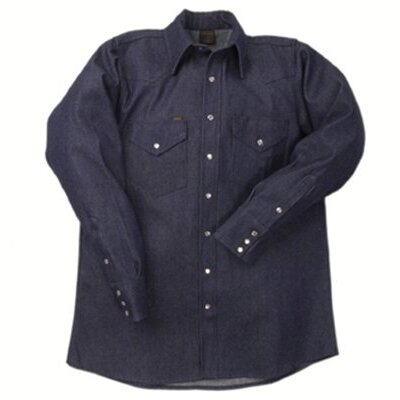 Lapco 1000 Blue Denim Shirts - la ds-18 m 1000 denim