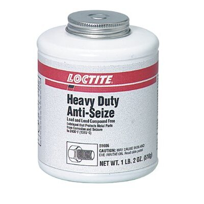Loctite Corporation Heavy Duty Anti-Seize - c-102 9oz.anti-seize lubricant paste lead/copper