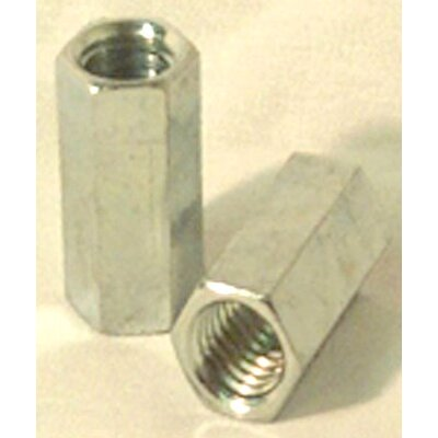 "Boltmaster 3/16"" Right Hand Threaded Rod Coupler Nuts 11842"