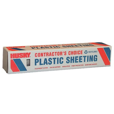 "CovalencePlastics 8' 4"" X 200' 2 ML Polyethylene Clear Plastic Sheeting CF02083"